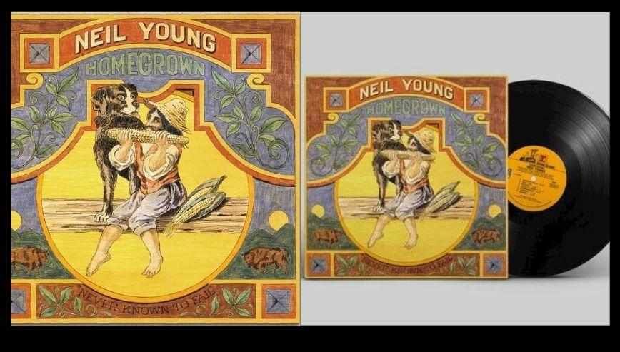 Homegrown, el disco perdido y de desamor que Neil Young tenía guardado